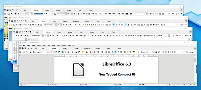nouvelle version libre  office 6
